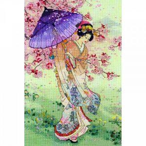 Набор для вышивания крестом ANCHOR MAIA «Yumezakura (Зонтик)»