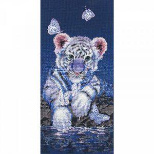Набор для вышивания крестом ANCHOR MAIA «Белый тигренок»