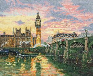 Набор для вышивания крестом ANCHOR MAIA «Лондон»