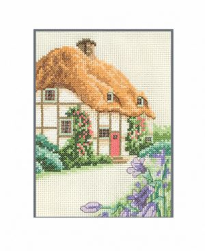 Набор для вышивания крестом ANCHOR «Домик с соломенной крышей»