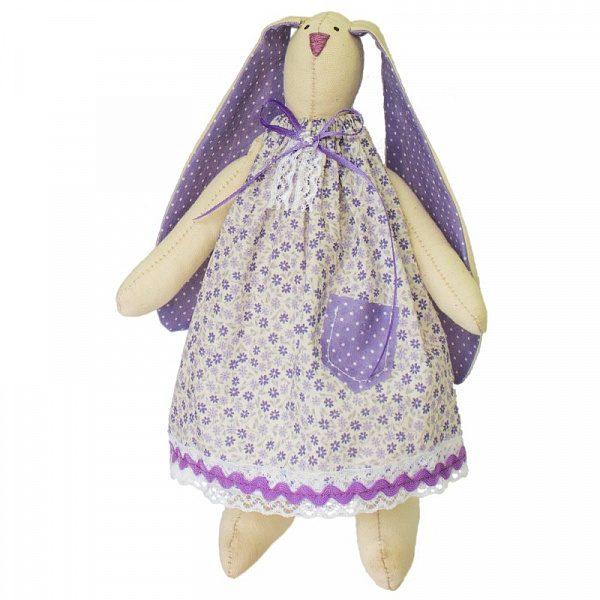 Набор для изготовления текстильной игрушки «Зайка Василиса»
