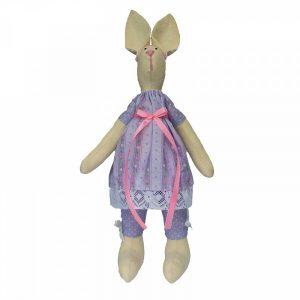 Набор для изготовления текстильной игрушки «Зайка Варюша»
