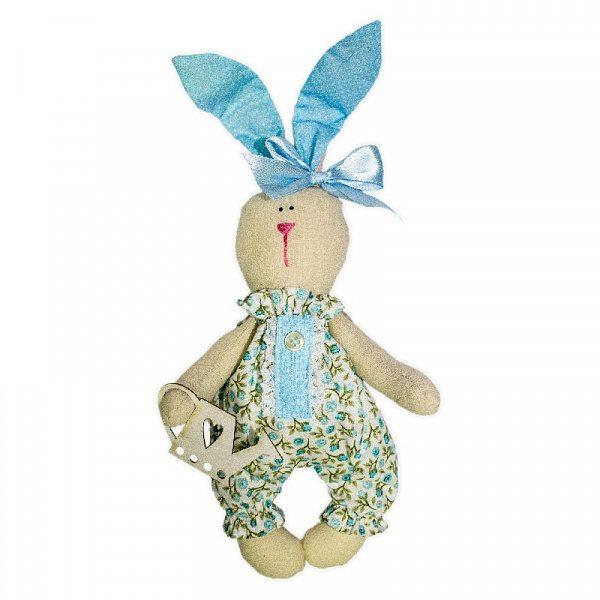 Набор для изготовления текстильной игрушки «Зайка Садовник»