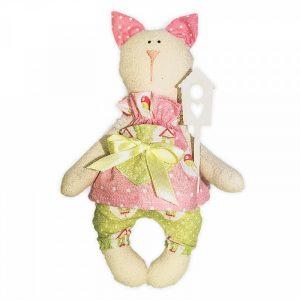 Набор для изготовления текстильной игрушки «Кошка Тася»