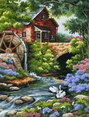 Набор для вышивания DIMENSIONS «Дом у мельницы»