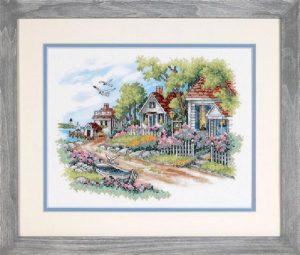 Набор для вышивания DIMENSIONS «Дом у моря»
