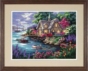 Набор для вышивания DIMENSIONS «Дом на берегу бухты»