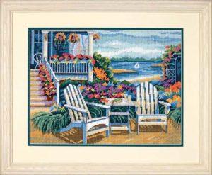 Набор для вышивания DIMENSIONS «Уединение на берегу»