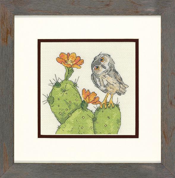 Набор для вышивания DIMENSIONS «Колючая сова»