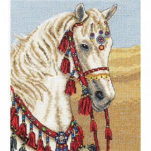 Набор для вышивания крестом ANCHOR «Арабский скакун»