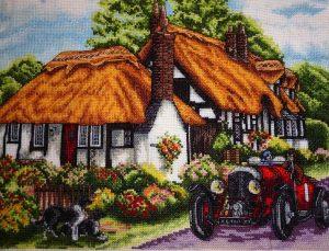 Набор для вышивания крестом ANCHOR «Деревня Велфорд»