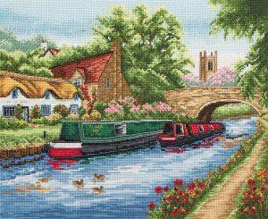 Набор для вышивания крестом ANCHOR «Водный канал»