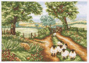 Набор для вышивания крестом ANCHOR «Вниз по дороге»