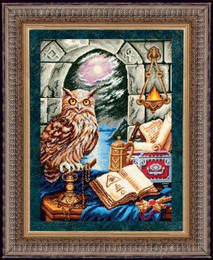 Набор для вышивания бисером Золотые ручки «Хранитель Времени»