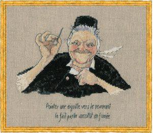 Набор для вышивания NIMUE «Mamm Gozh» Мать Гож
