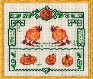 Набор для вышивания NIMUE «Halloween» Хэллоуин
