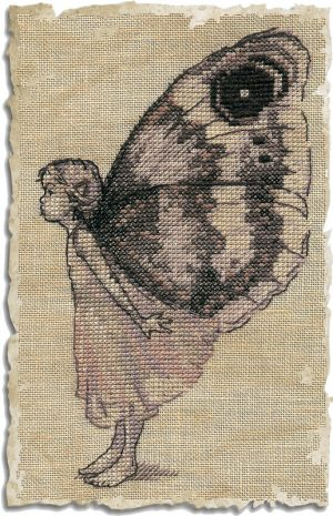 Набор для вышивания NIMUE «Le Papillon» Бабочка