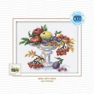 Набор для вышивания РТО «Ваза с фруктами»