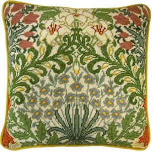 Купить набор для вышивания подушки Bothy Threads «Сад» William Morris TAC8