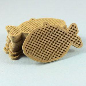 Основы для вышивки Дивная вишня «Рыбка»