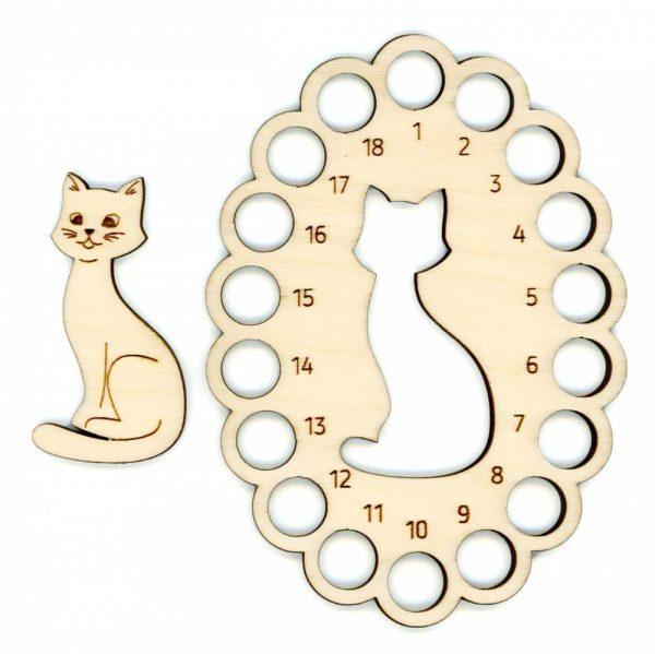 Органайзер для ниток «Кот»