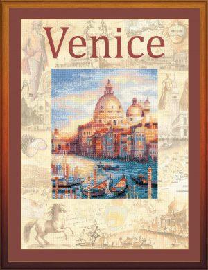 Набор для вышивания крестом Риолис «Города мира. Венеция»