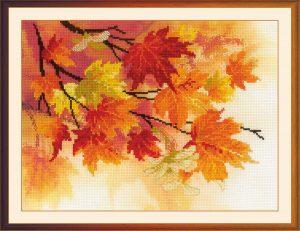 Набор для вышивания крестом Риолис «Краски осени»