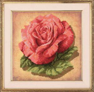Набор для вышивания крестом Риолис «Роза»