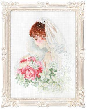 Набор для вышивания RIOLIS PREMIUM «Невеста»