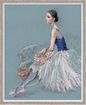 Набор для вышивания RIOLIS PREMIUM «Балерина»