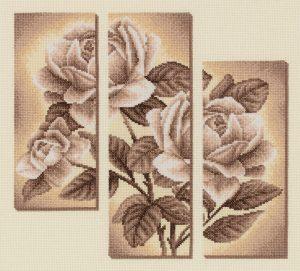Набор для вышивания PANNA «Триптих с розами»