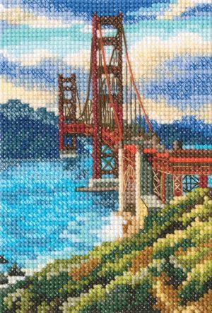 Набор для вышивания РТО «Мост Золотые ворота»