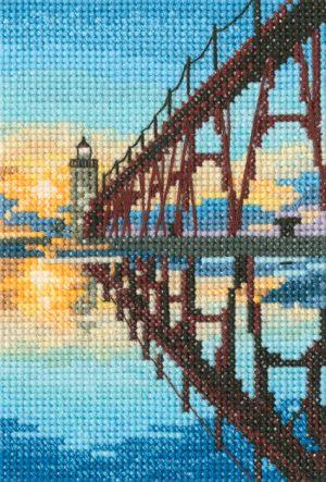 Набор для вышивания РТО «Мостик к маяку северного пирса Манисти»