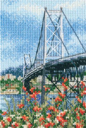 Набор для вышивания РТО «Висячий мост Эрсилью Луш»