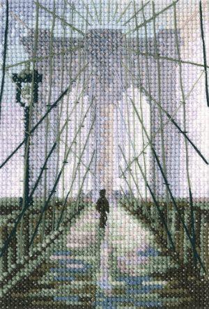 Набор для вышивания РТО «Бруклинский мост» C312