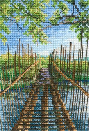 Набор для вышивания РТО «Пешеходный мост на озере Остин»