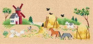 Набор для вышивания PANNA «На ферме»