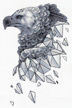 Набор для вышивания PANNA «Геометрия. Орел»
