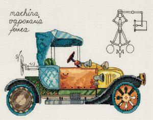 Набор для вышивания PANNA «Машина механическая»