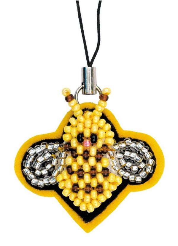 Набор для бисероплетения Риолис «Брелок Пчелочка»