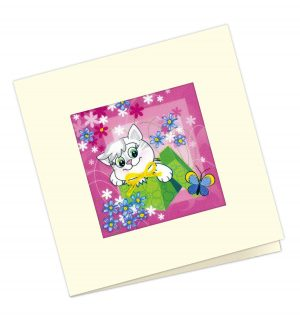 Набор для вышивания крестом Риолис «Открытка Подарочная»