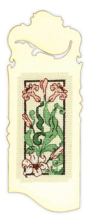 Набор для вышивания крестом Риолис «Закладка Изящная лилия»
