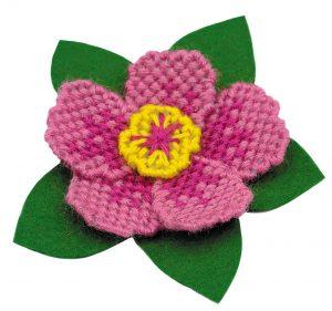Набор для вышивания крестом Риолис «Магнит Цветок»