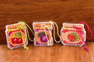 Набор для вышивания крестом Риолис «Баночки с вареньем»