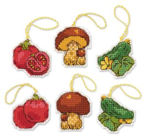 Набор для вышивания крестом Риолис «Соленья»