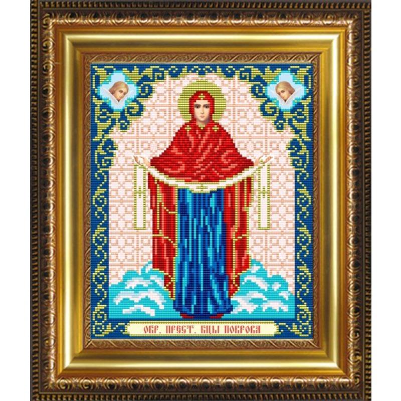 фото вышитых крестом иконы покрова уверены, пусть
