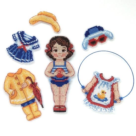 Набор для вышивания Дивная вишня «Кукла Марина»