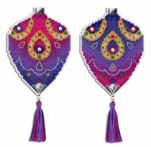 Набор для вышивания на пластиковой канве ЖАР-ПТИЦА «Восточная сказка»