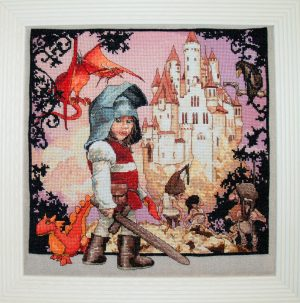 Набор для вышивания NIMUE «Petit Chevalier» Маленький рыцарь