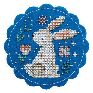 Набор для вышивания Дивная вишня «Заяц»